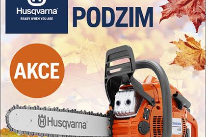 AKČNÍ PODZIM HUSQVARNA 2018 - AKCE ukončena