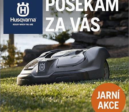 Husqvarna AKCE JARO !! - AKCE UKONČENA