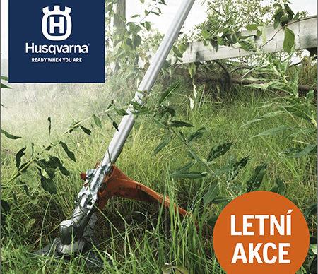 Letní akce Husqvarna - AKCE UKONČENA