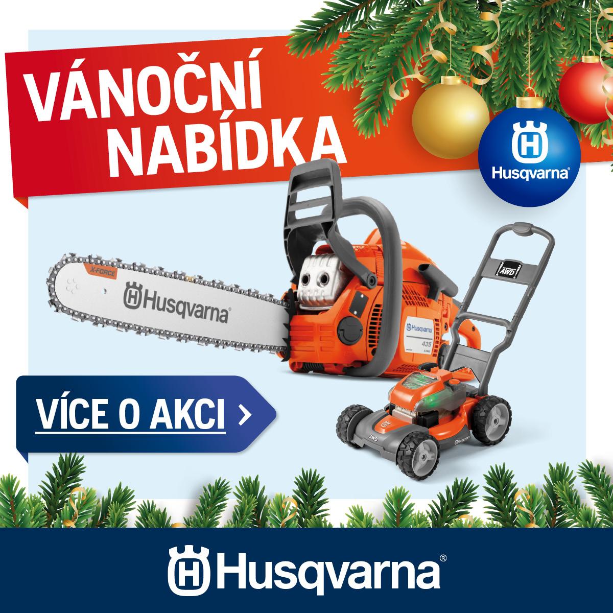 Vánoční nabídka Husqvarna 2019