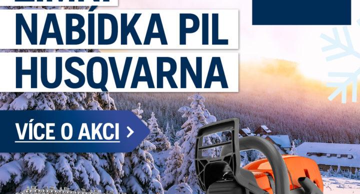 Zimní akce Husqvarna 2020 - AKCE UKONČENA