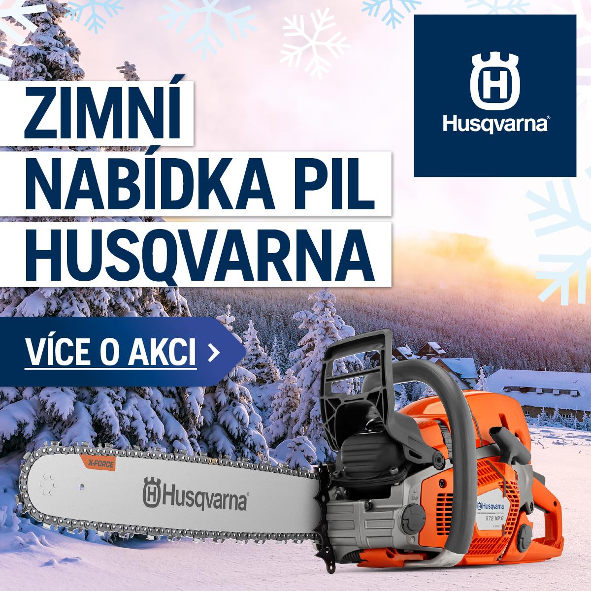 Zimní akce Husqvarna 2020